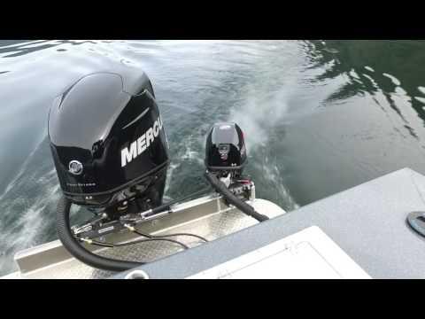 Perfect outboard kicker setup