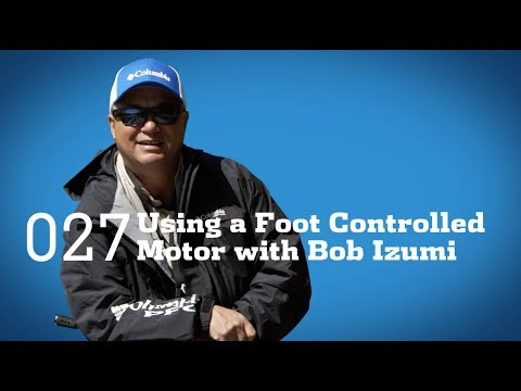Tips And Tricks: Using A Foot Controlled Motor With Bob Izumi