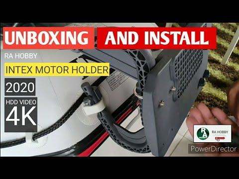 INSTALL MOUNT KIT TROLLING MOTOR INTEX