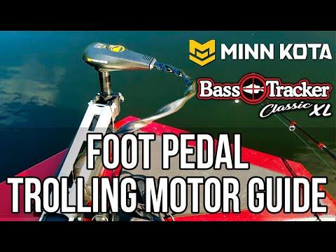 Foot Pedal Trolling Motor Guide (Bass Tracker Classic XL, Minn Kota Edge)