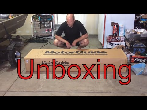 Unboxing Motorguide Xi5 Trolling Motor - What's In The Box for 2020