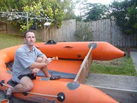 How to paint your Inflatable boat - Topside Paint