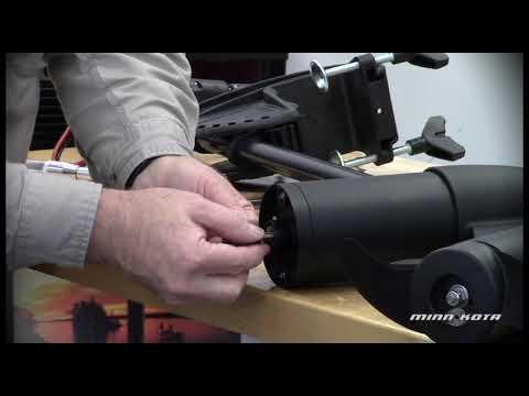 How to Install a Minn Kota Trolling Motor Prop