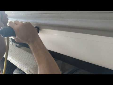 Removing Glue from Hypalon Inflatable Boat