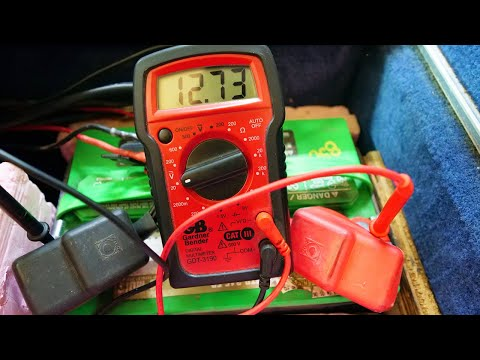 How to Test your Boat Battery Voltage with a Multimeter!