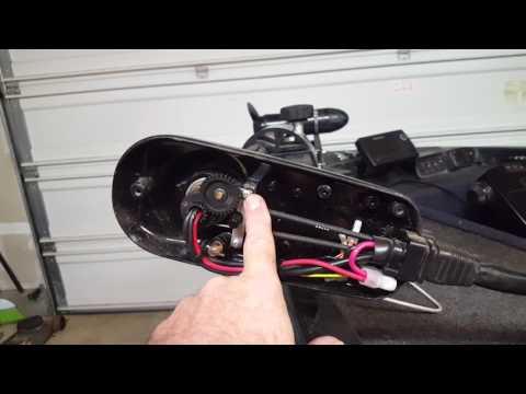 MotorGuide trolling motor arrow keep moving?