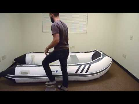 Inflatable Boat With Air Mat Floor Inflation and Assembly Instructions by Newport Vessels