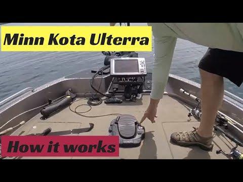 Minn Kota Ulterra - How it works