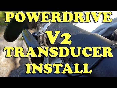 Minn Kota Powerdrive V2 Side Imaging Transducer Installation