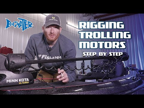 How to Perform Bow Mount Trolling Motor Installation - Minn Kota Terrova, Ulterra, Ultrex