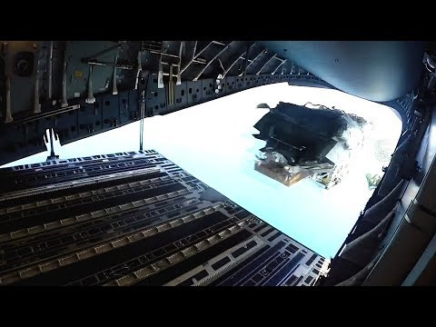 DROPPING BOATS OUT OF AN AIRPLANE! (Low Velocity Airdrop Delivery System, Atlantic Ocean, 2018.)