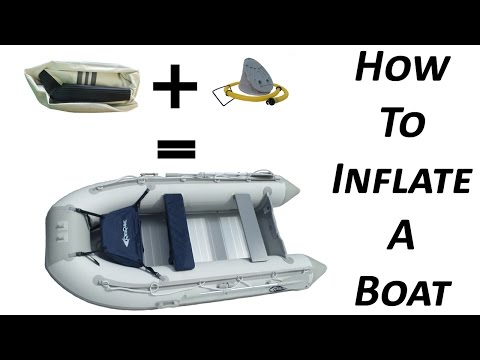 How To Setup An Inflatable Boat In 20 Minutes Or Less | RibRave