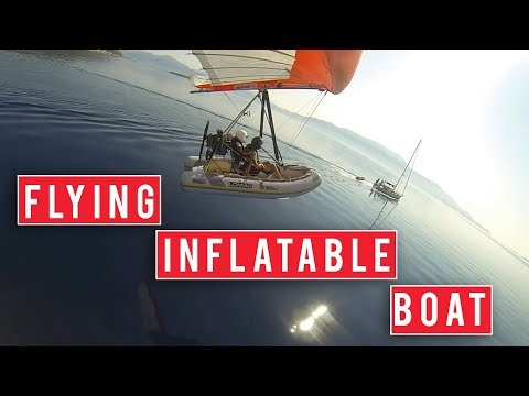 The Flying Inflatable Boat is Terrifying | I Want That