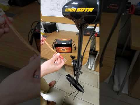 How to connect your trolling motor to a battery with a circuit breaker