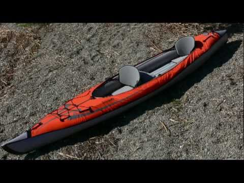 AirKayaks.com: The AdvancedFrame Convertible Inflatable Kayak from Advanced Elements
