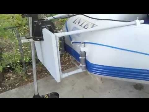 How to build a trolling motor mount