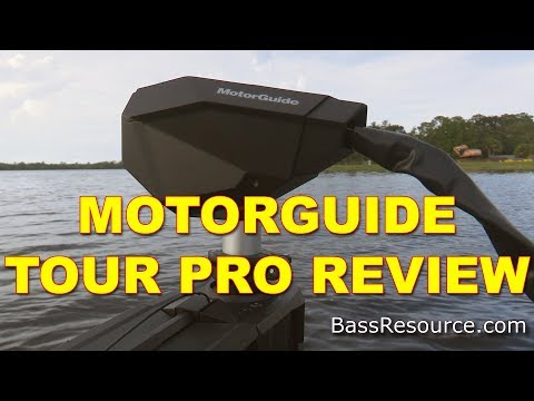 MotorGuide Tour Pro Trolling Motor Review | Bass Fishing
