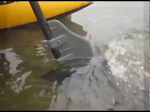 """Boat Rudder, """"Bullnose Rudder"""" for electric trolling motors"""
