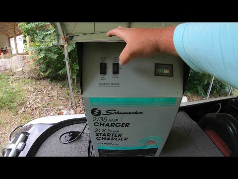 How to charge 24v or 36v trolling motor with out on board charger