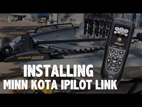 How To Install Minn Kota iPilot Link