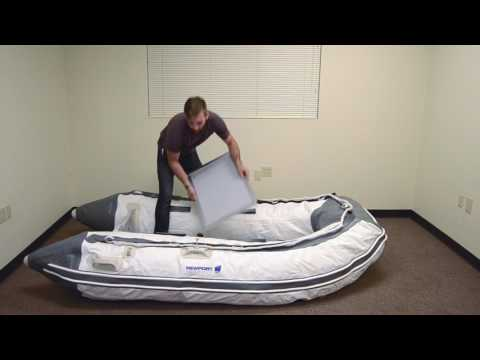 Newport Vessels Dana Inflatable Sport Boat Assembly & Disassembly Instructions