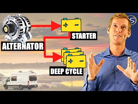 Deep Cycle Battery Charging with your Alternator: The 3 Best Options explained [+ Wiring Diagram]