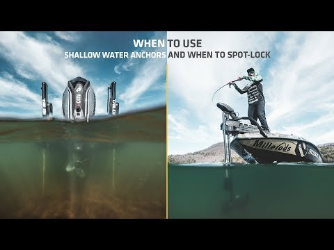 When to Use Spot-Lock vs Shallow Water Anchors
