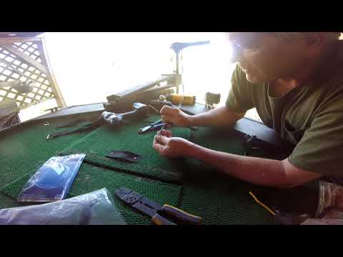 How to install a trolling motor foot switch