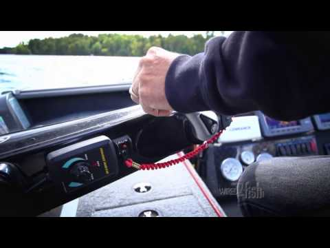 How to use an engine mounted electric motor for trolling.