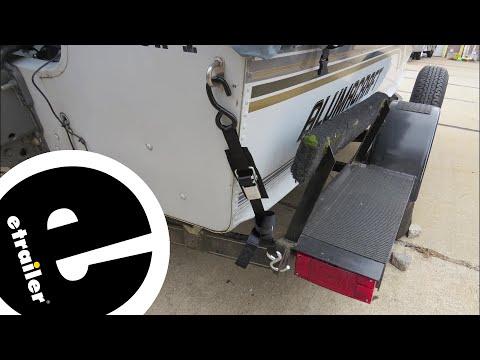 etrailer | BoatBuckle Kwik-Lok Transom Tie-Down Straps Review