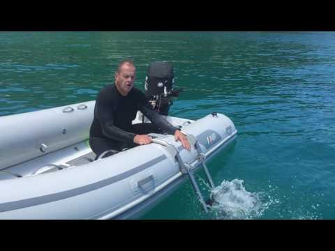 The Perfect Ladder for an inflatable boat