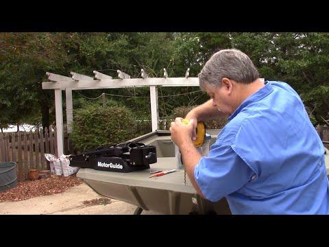 Installing a Motorguide Trolling Motor