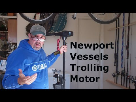 Newport Vessels Trolling Motor Unboxing, Install and review