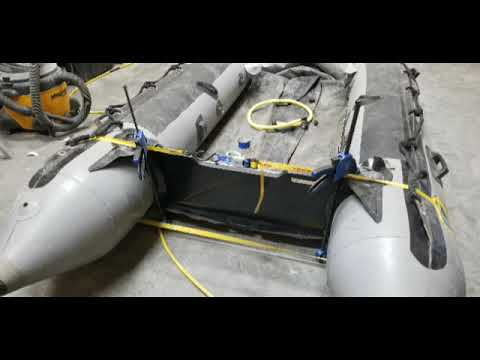 Installing replacing a transom on your Zodiac inflatable boat