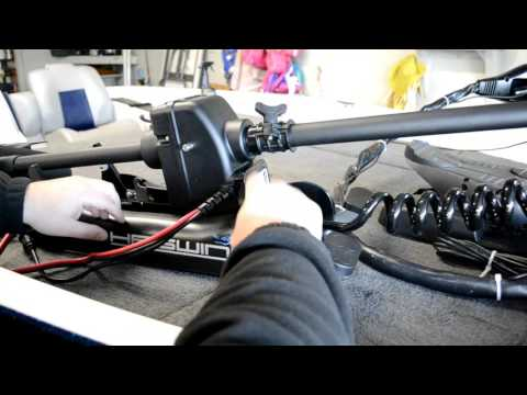 Unboxing Haswing Cayman 24v 80lbs Bow Mount Trolling Motor