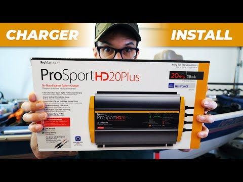 How to Install an Onboard Boat Battery Charger + ProMariner Unboxing & Review