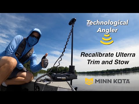 How to reset Ulterra Trim and Stow | Minn Kota | The Technological Angler