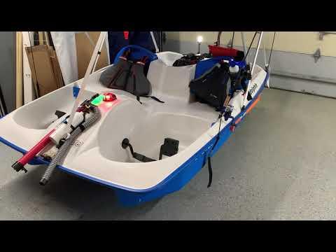Motorized Pedal Boat