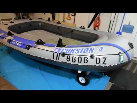 Applying State Registration Numbers To Intex Raft