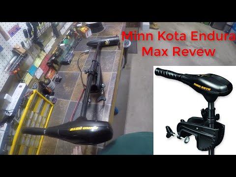 Minn Kota Product Review -[Endura Max 55 Trolling Motor]