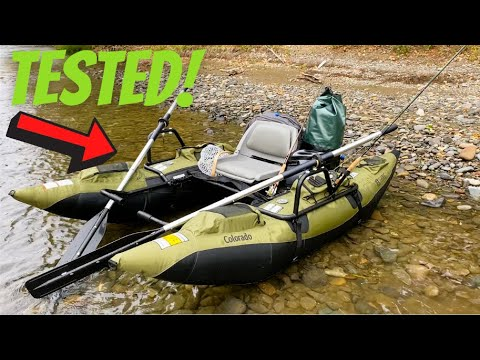 Colorado Pontoon Boat Review & Test from Classic Accessories 2020 - with River Test #flyfishing