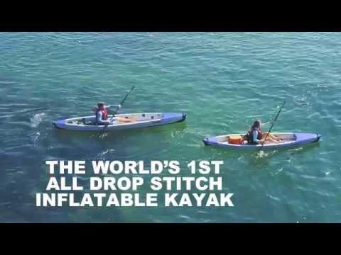 Sea Eagle RazorLite™ - World's First All Drop Stitch High Pressure Rigid Inflatable Kayak