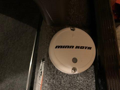 Minn Kota Heading Sensor Puck Install
