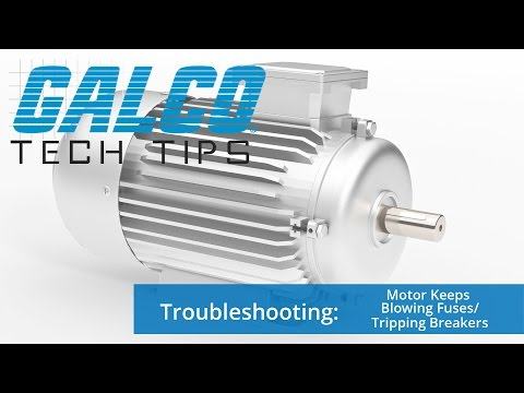Troubleshooting: Why does my Motor keep blowing Fuses and Tripping Breakers? - A GalcoTV Tech Tip