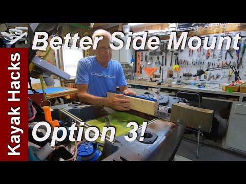 Side Mount Trolling Motor Kayak Mount - Easy Kayak Motor Mount (Option 3)