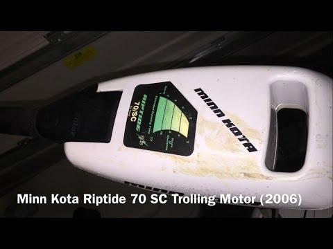 Minn Kota Trolling Motor Lower Unit Disassembly & Reassemby