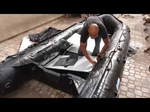 Bris BSA470 Dive/Rescue 15.4 ft inflatable boat assembly. Is it really as easy as they say?