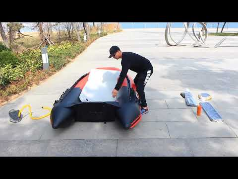 ALEKO Inflatable Air Floor Boat Installation Video