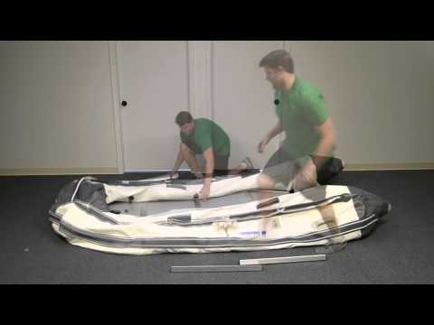 Inflatable Boat Deflation And Storage Tutorial - Newport Vessels