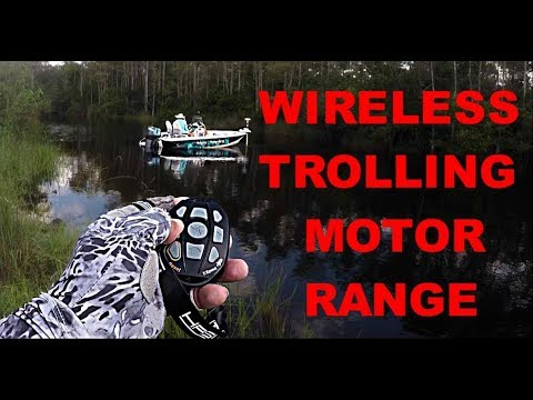Haswing Cayman Wireless Trolling Motor Remote Range/First Time Using it